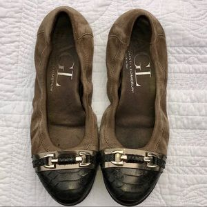 Attilio Giusti Leombruni AGL Leather Ballet Flat